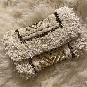 Unique Zara Wool Knit Moroccan Style Handbag